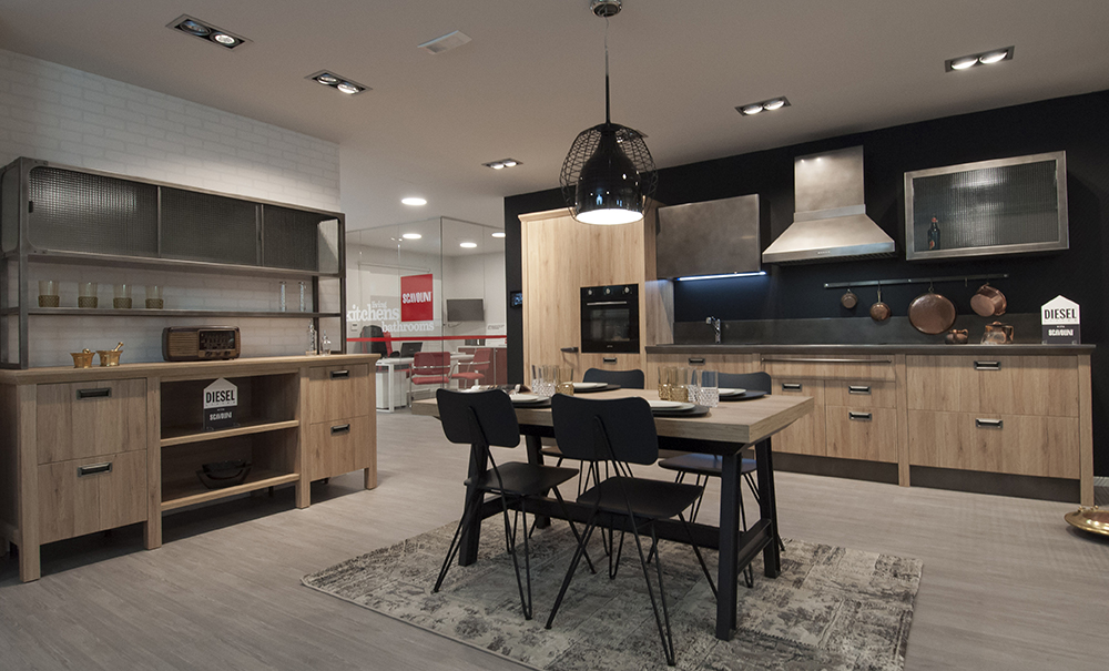 Modern Social Kitchen Diesel Scavolini ~ Best Of Home Design Ideas